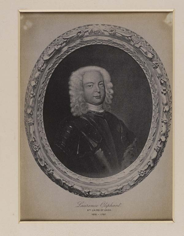 (593) Blaikie.SNPG.5.13 - Laurence Oliphant 6th Laird of Gask 1691-1767