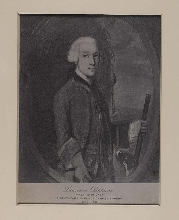 (594) Blaikie.SNPG.5.14 - Laurence Oliphant 7th Laird of Gask. Aide-de-Camp to Prince Charles Edward 1724-1792