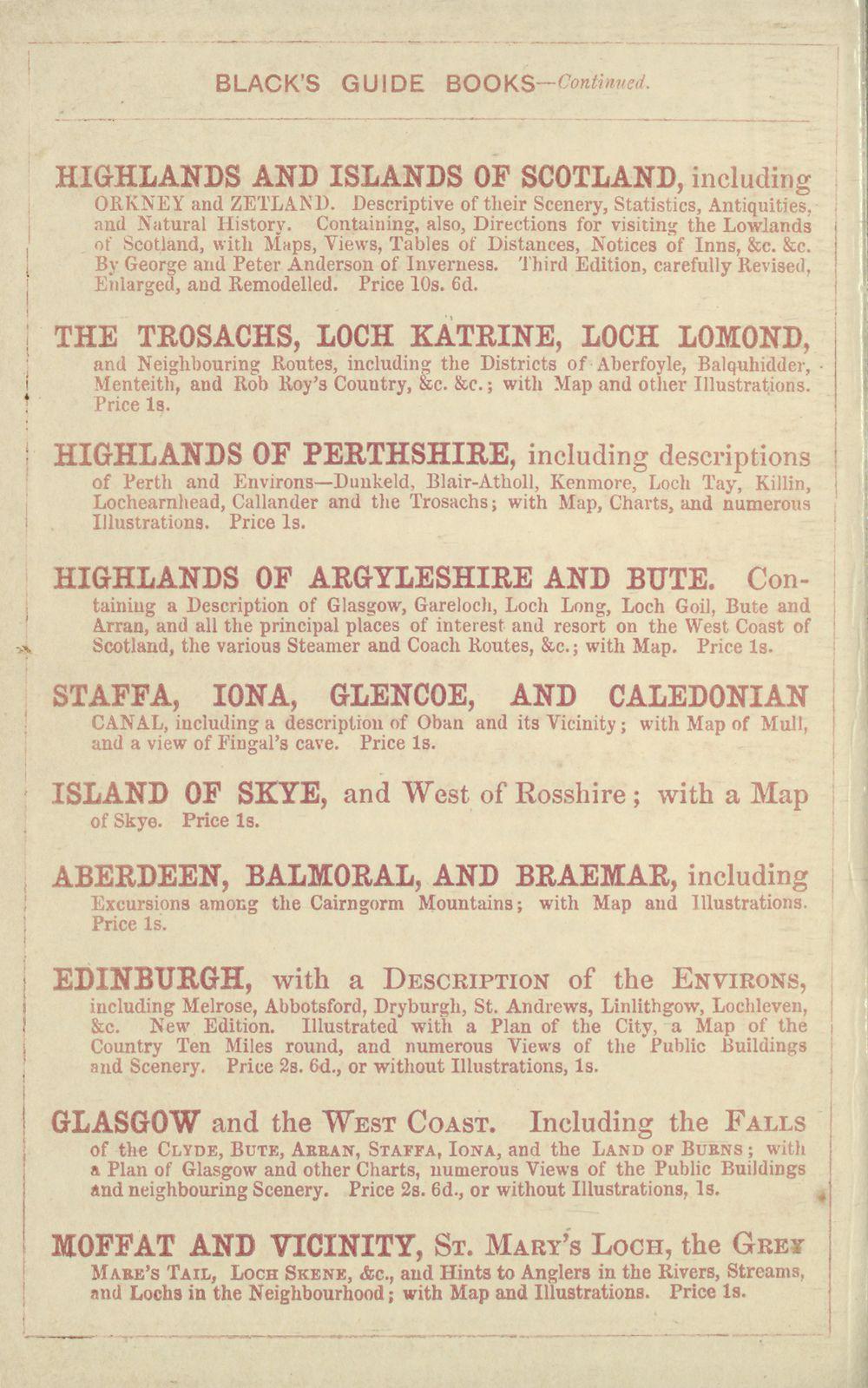170) - Antiquarian books of Scotland > Scotland/Scots