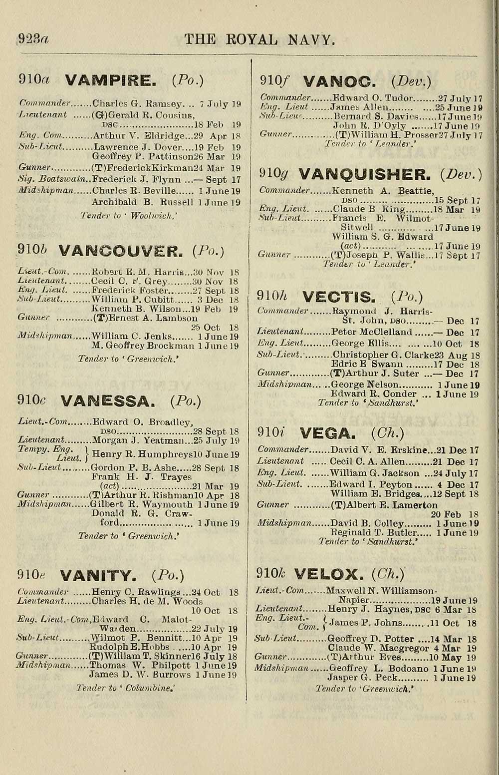 101b3066fd 790) - Navy lists   1913-1914