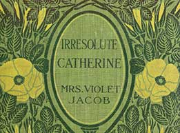 'Irresolute Catherine' book cover