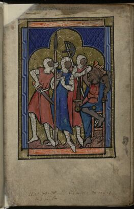 Herod Ordering the Massacre of the Innocents (miniature)