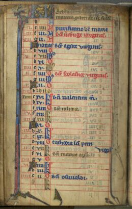 Calendar of the Book of Hours: February