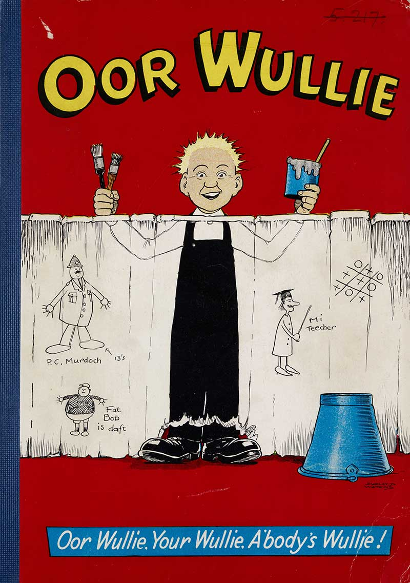 What Is The Difference Between Contemporary And Modern Interior Design: Oor Wullie - National Library Of Scotland