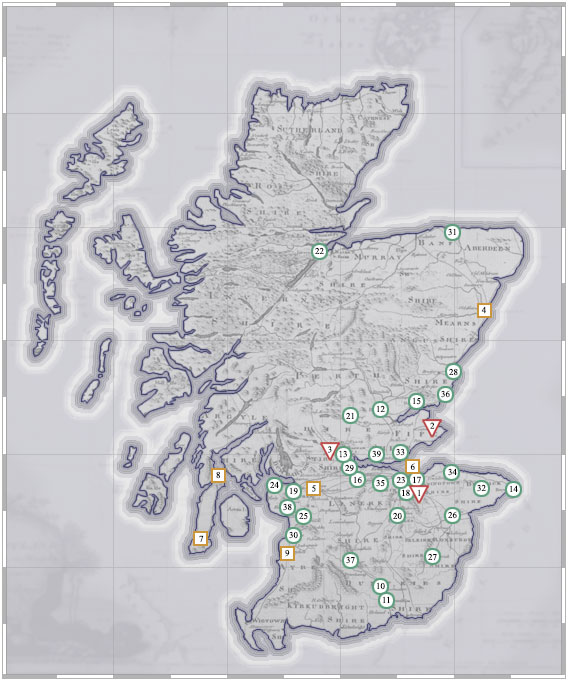 Map Of Uk For Printing.Read The Texts The Spread Of Scottish Printing National Library