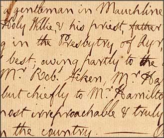 Holy Willie's Prayer Critical Essay Writing - image 9