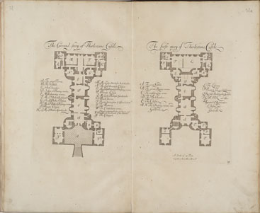Thirlestane Castle - floor plans - John